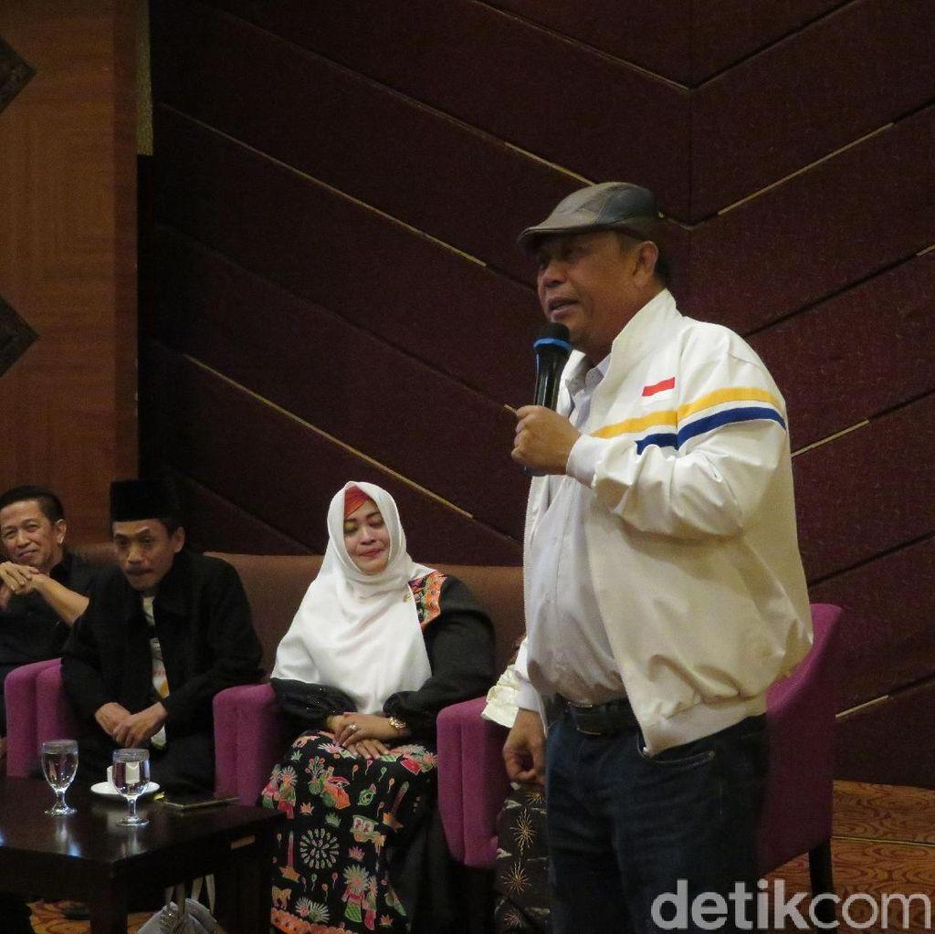 Orasi di Deklarasi Emak-emak, Eggi: Menangkan Prabowo itu Ibadah