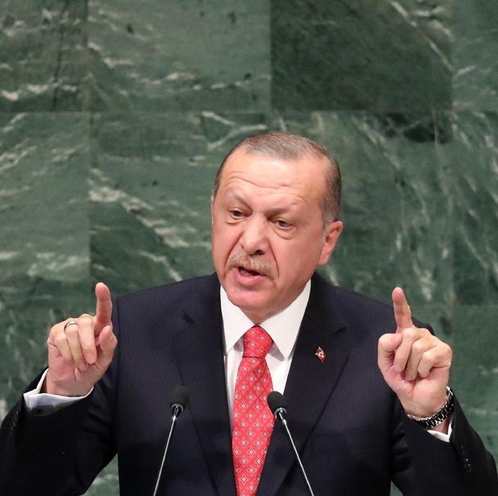 Erdogan Tegaskan Nasib Pendeta AS Akan Ditentukan Pengadilan