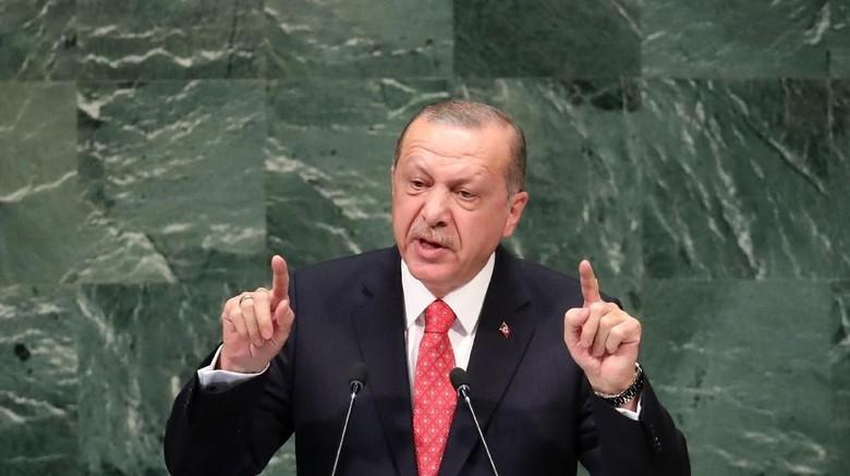 Erdogan: Kita Tak Boleh Diam Atas Hilangnya Wartawan Arab Saudi
