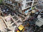Bangunan di India Roboh, 5 Orang Tewas