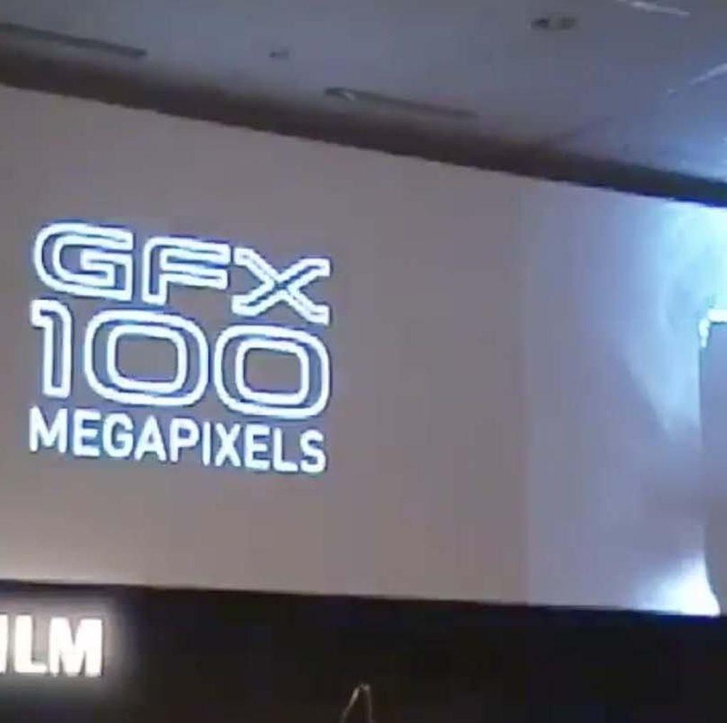 Fujifilm Siap-siap Rilis Kamera 100 Megapixel
