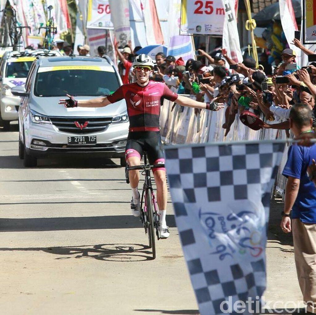 Pebalap Australia Culey Juara Etape Pertama Tour de Banyuwangi Ijen