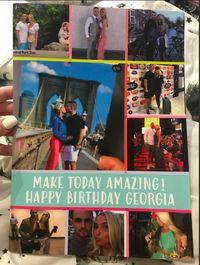 Kartu ucapan ulang tahun yang diberikan Ryan untuk pacarnya, Laura