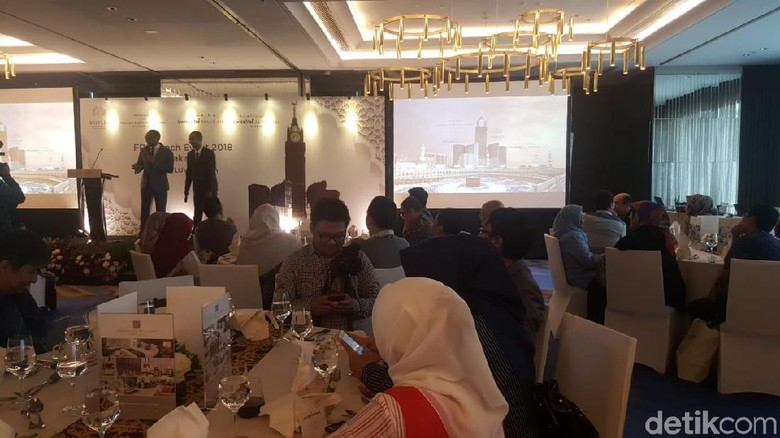 Foto: Jamaah Indonesia Terbesar Kedua di 4 Hotel Mewah Makkah (Fitraya/detikTravel)