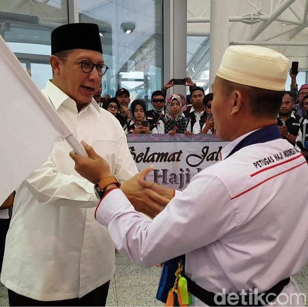 Akhir Pemulangan Jemaah Haji, Menag Titip Salam dan Minta Maaf