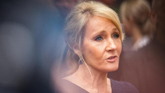 LONDON, ENGLAND - JULY 30:  J. K. Rowling attends the press preview of