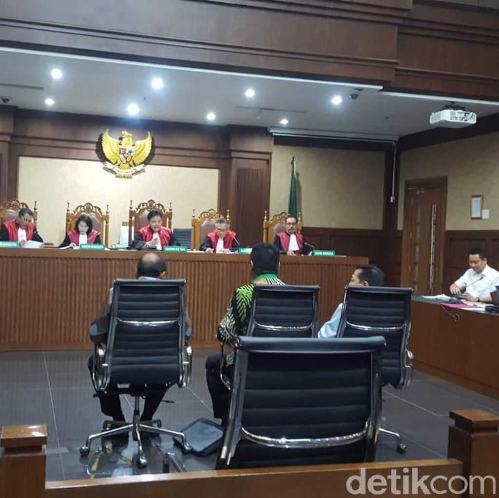 Novanto hingga TB Hasanuddin Jadi Saksi di Sidang Bakamla