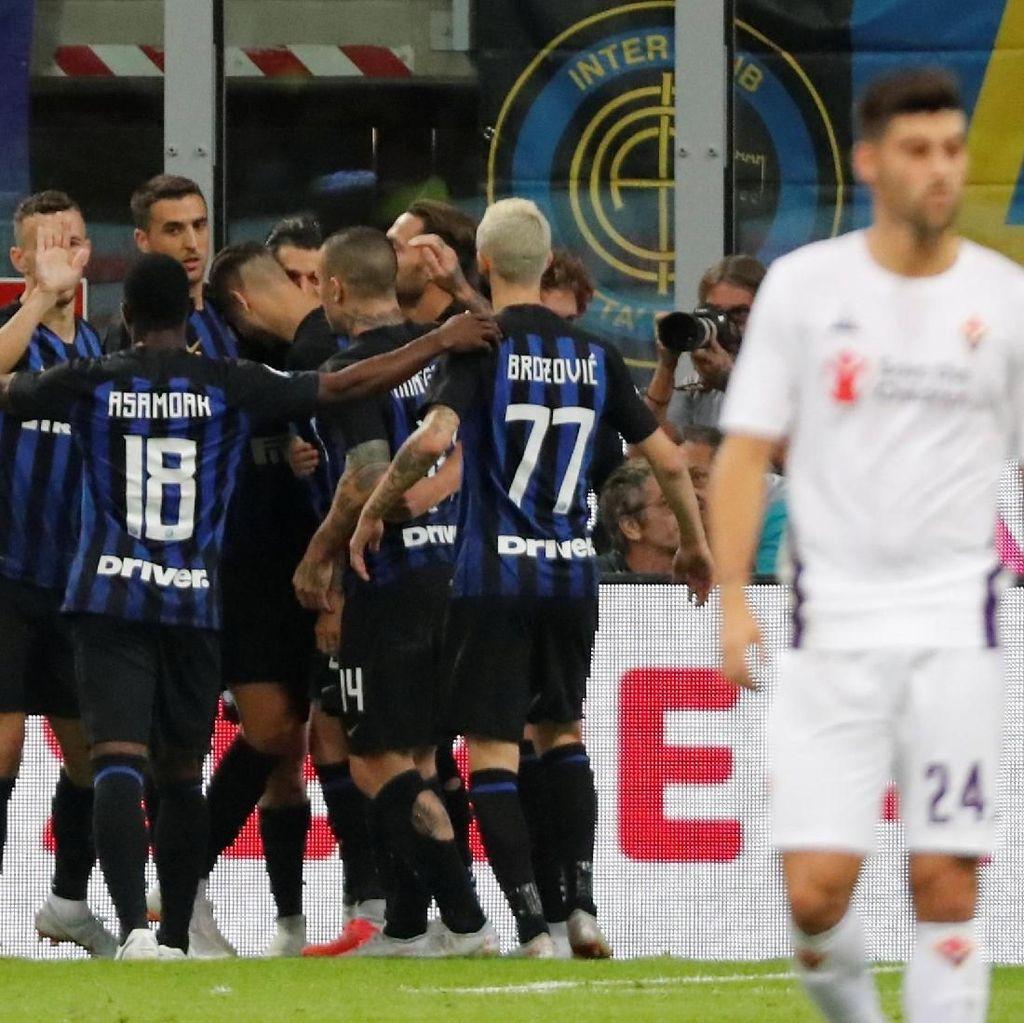 Hasil Liga Italia: Taklukkan Fiorentina, Inter Akhirnya Menang di Kandang