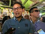 Tinjau Pasar Pocong, Sandiaga: Ada Impor tapi Bahan Pokok Mahal
