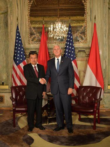 Pertemuan ini jelang 70 tahun hubungan diplomatik Indonesia-AS