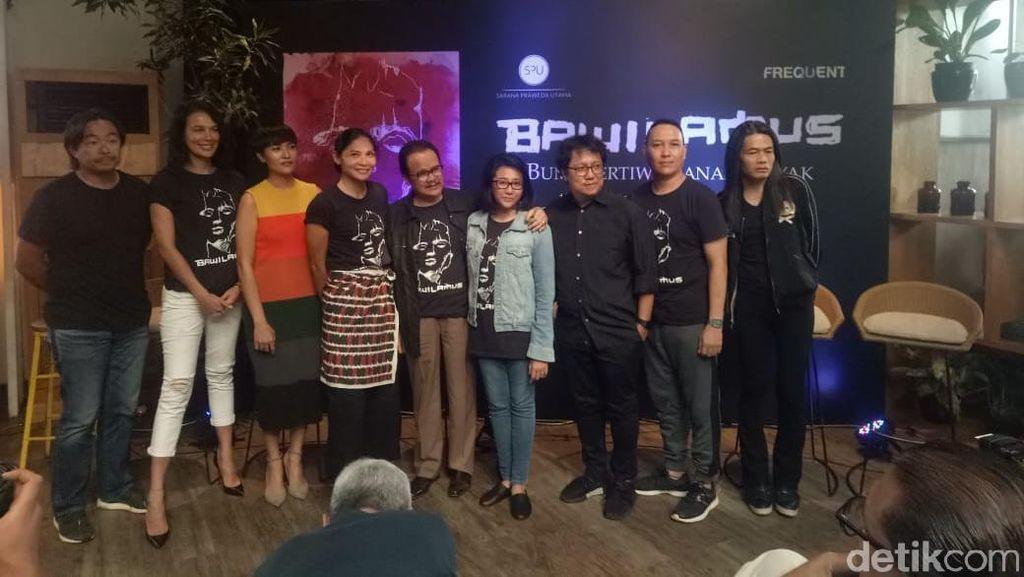 Demi Kalimantan Tengah, Sophia Latjuba Main Teater Bawi Lamus