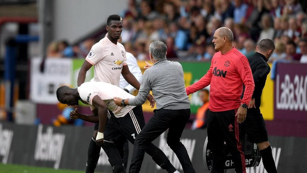 Saha: Pogba Seharusnya Tak Kritik Mourinho Secara Terbuka