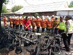 17 Motor Pelajar SMKN 6 Ludes Terbakar, 5 Tukang Parkir Diamankan