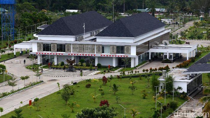 Pos Lintas Batas Negara di Skouw-Papua/Foto: Muhammad Ridho