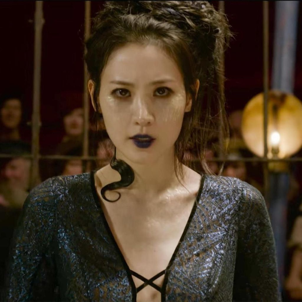Claudia Kim Buka Suara tentang Nagini, Ular Kesayangan Voldemort