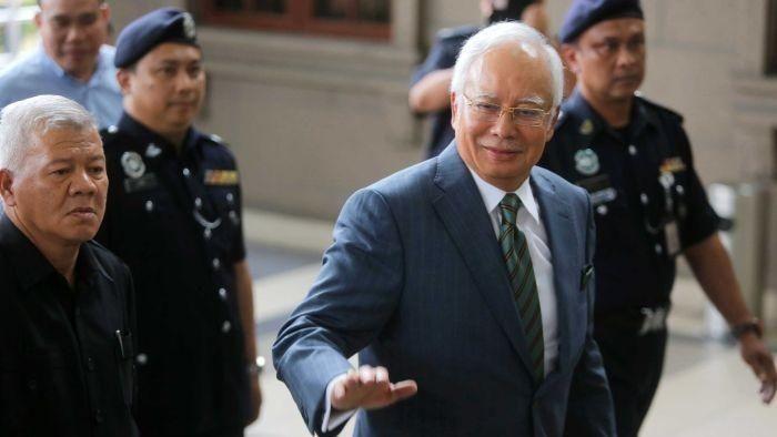 Mantan PM Malaysia Najib Razak. Foto: ABC Australia