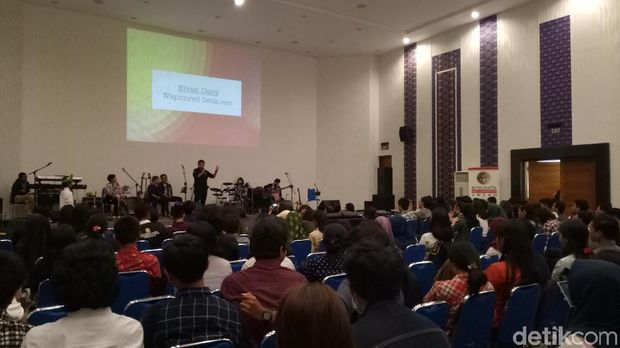Roadshow Perkumpulan Bung Hatta Anti-Corruption Award (BHACA) di Udayana, Bali, Kamis (27/9/2018)