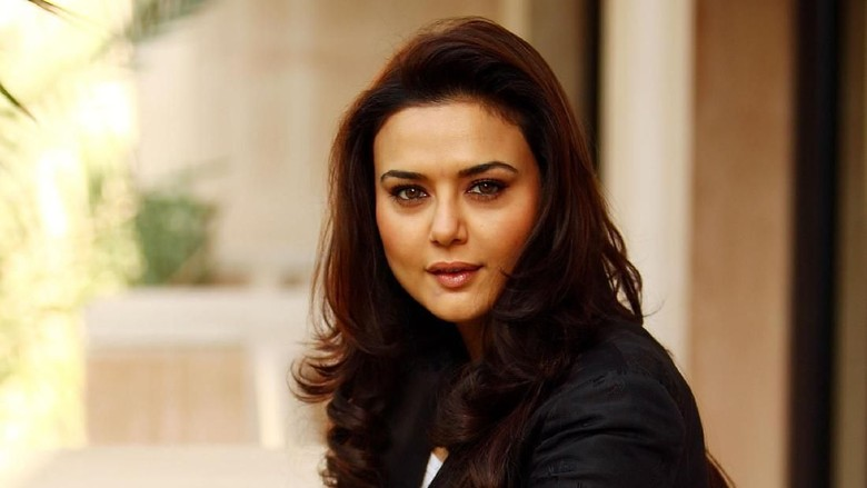 DUBAI, UNITED ARAB EMIRATES - DECEMBER 12:  Actress Preity Zinta during a portrait session on day two of The 5th Annual Dubai International Film Festival held at the Al Qasr Jumeirah Hotel on December 12, 2008 in Dubai, United Arab Emirates.  (Photo by Andrew H. Walker/Getty Images)