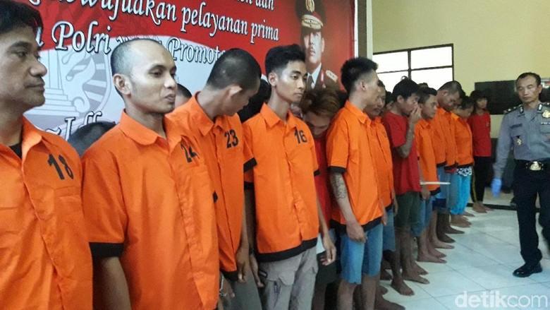 Operasi Nila, 34 Pengedar Narkoba Ditangkap di Kabupaten Bekasi
