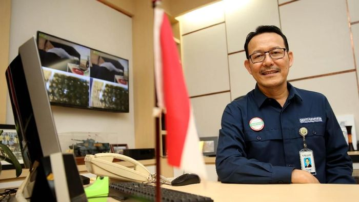 Dirut BPJS Kesehatan Fachmi Idris/Foto: Rachman Haryanto
