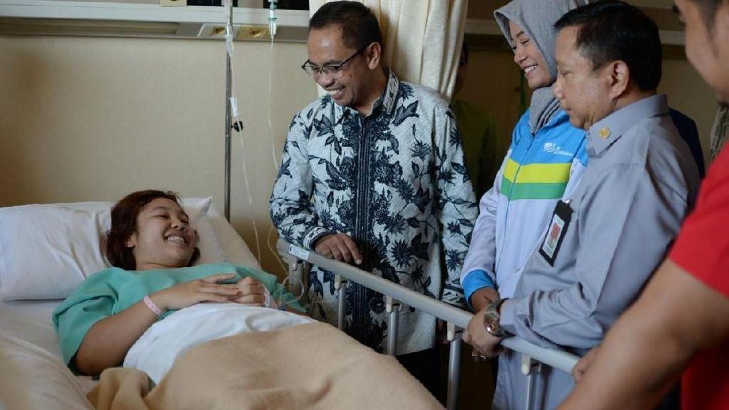 Alami Cedera Saat Asian Games, Atlet Judo Ini Ditanggung BPJS TK