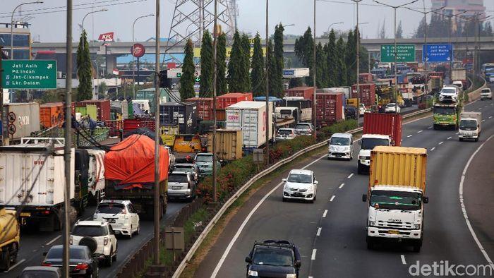Tol JORR/Foto: Agung Pambudhy
