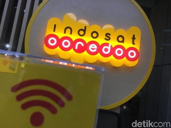 Logo Indosat Ooredoo. Foto: detikINET/Agus Tri Haryanto