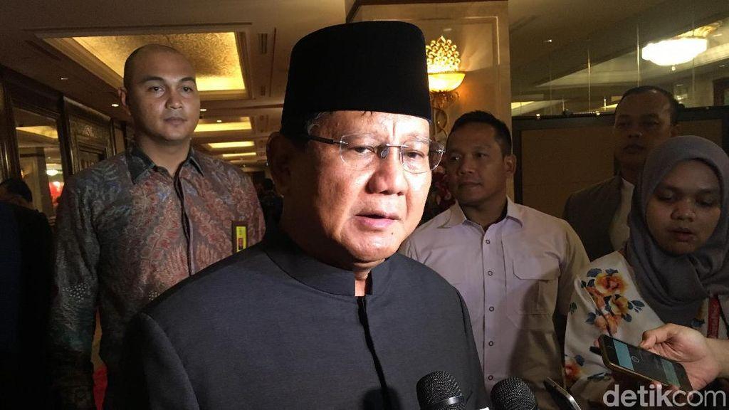 Kritik Prabowo ke Pemerintah, dari Pajak hingga Utang