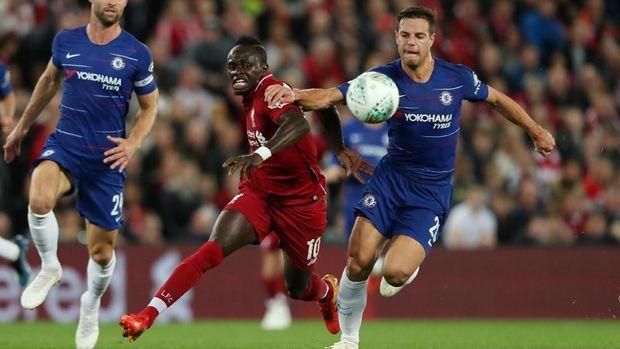 Liverpool bertekuk lutut di Anfield.