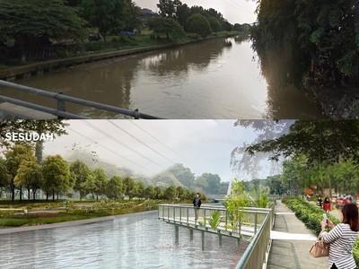 Potret Desain Terkini Kalimalang Bekasi ala Ridwan Kamil