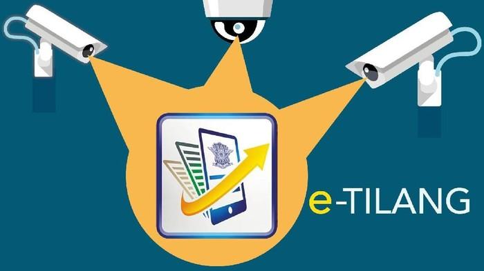 Ilustrasi fokus (bukan buat insert) e-Tilang Diuji Oktober 2018 (Edi Wahyono/detikcom)