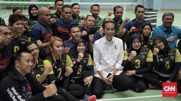 Jokowi Minta Menpora Atur Transisi Iklan Asian Para Games