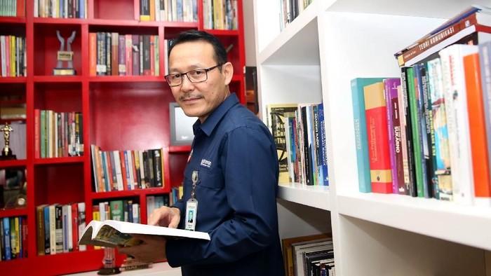 Direktur Utama BPJS Kesehatan Fachmi Idris (Foto: Rachman Haryanto)