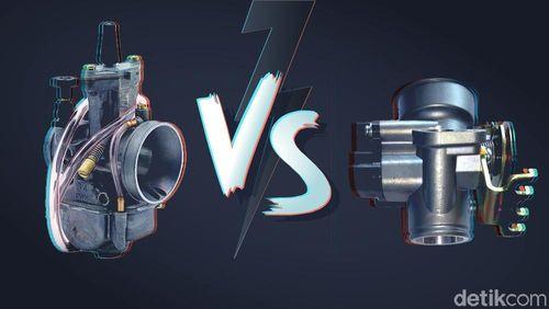 Motor Injeksi Vs Karburator