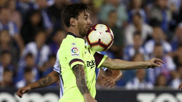Lionel Messi menjadi salah satu atlet berpendapatan tertinggi di dunia.