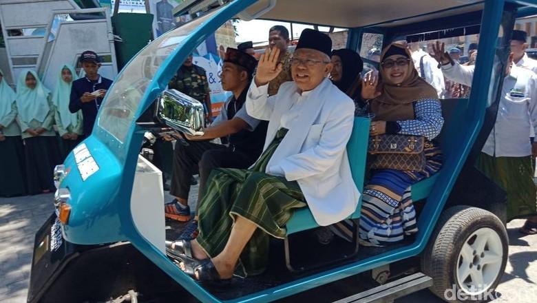 Maruf Optimistis Mobil Listrik Buatan Santri Jember Jadi Mobnas