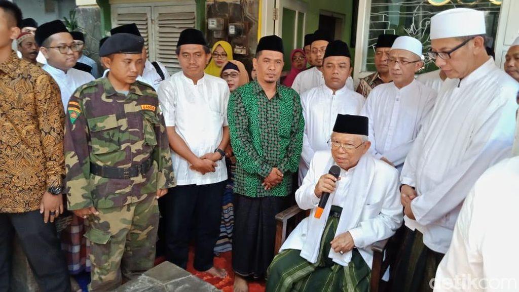KH Maruf Amin Tak Persoalkan Pemutaran Film G30S/PKI
