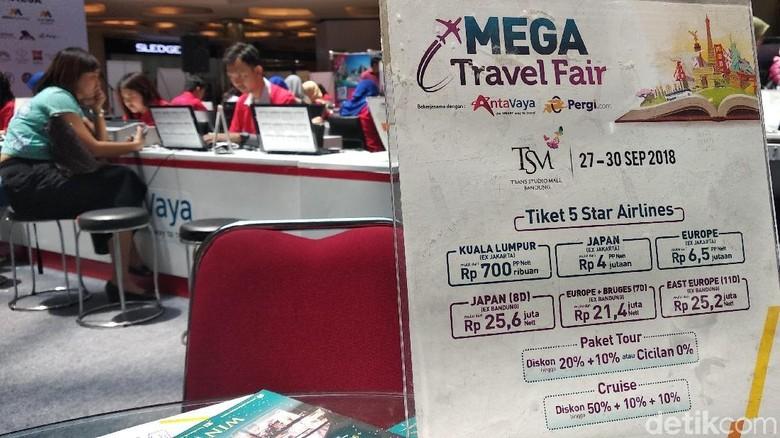 Mega Travel Fair di Bandung (Dony/detikTravel)
