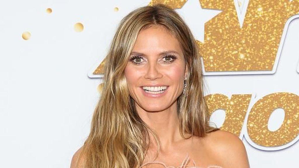 Heidi Klum Dilamar Kekasih yang Lebih Muda, Ini Cincin Indahnya