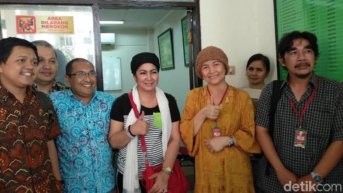 Gugatan pasien kanker payudara HER2 positif kepada BPJS kesehatan berujung damai (Foto: Widiya Wiyanti/detikHealth)