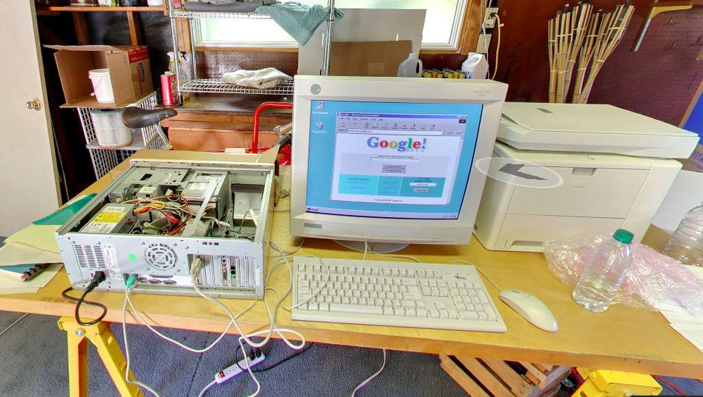 Melihat Garasi Tempat Kelahiran Google