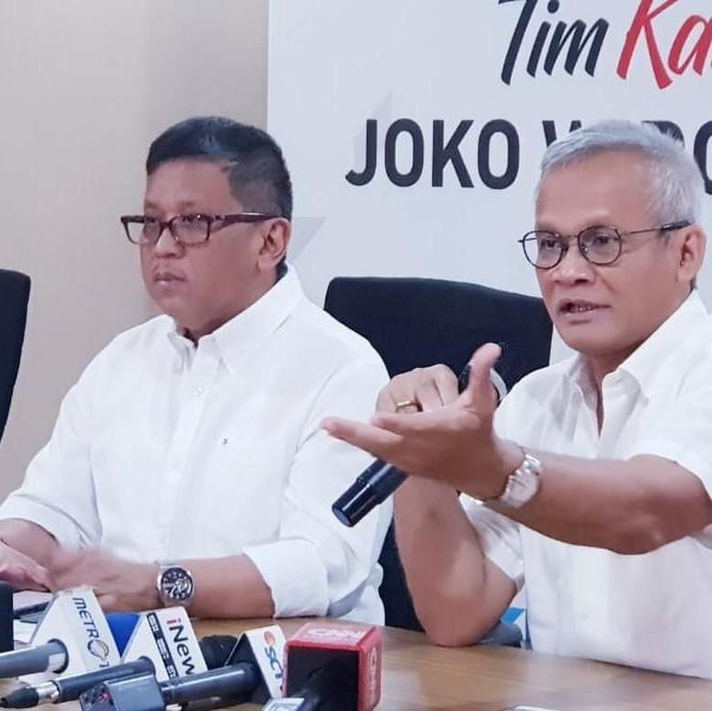 Timses Jokowi-Maruf Ingin Ajak Timses Prabowo-Sandi Nobar Hoax