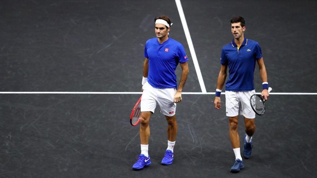Djokovic Diyakini Bisa Lewati Rekor Grand Slam Federer