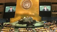 Ada Avengers hingga Justice League di Pidato JK Saat Sidang Umum PBB