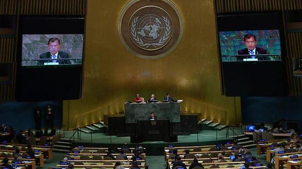 Ilustrasi sidang PBB.