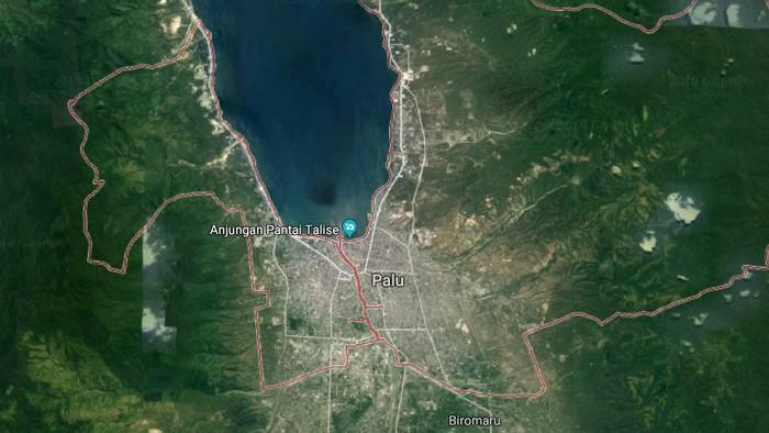 Foto: Palu, Sulawesi Tengah (Google Maps)