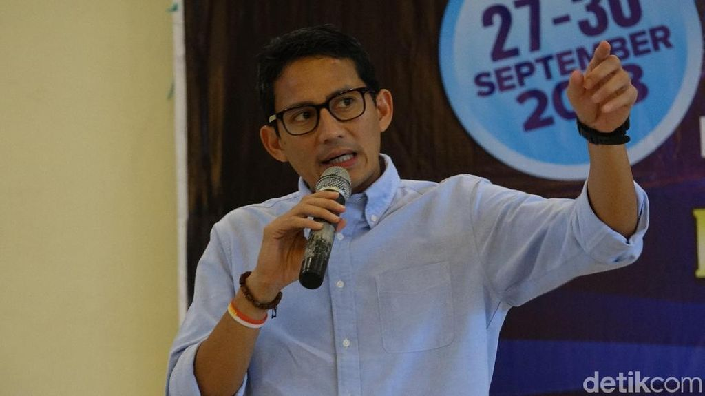 Jual Saham buat Dana Kampanye, Sandi: Proses Politik Harus Terang