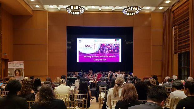 Susi di acara entrepreneur perempuan dunia di AS