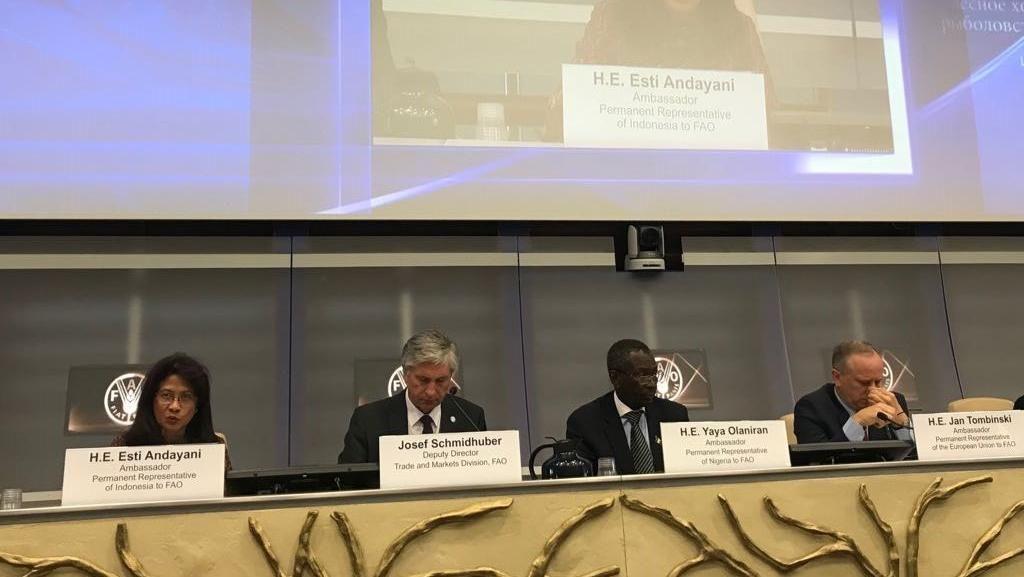 Dorong Keterbukaan Pasar Komoditas Pertanian, RI Gelar Diskusi FAO