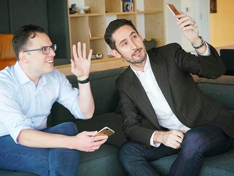 Mike Krieger dan Kevin Systrom